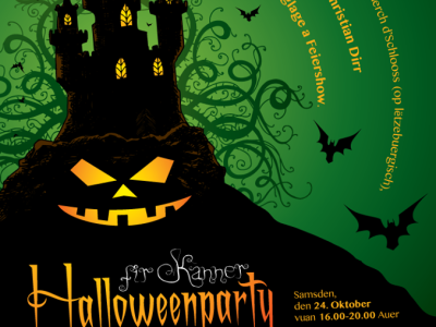 Halloween Party Poster and Flyer